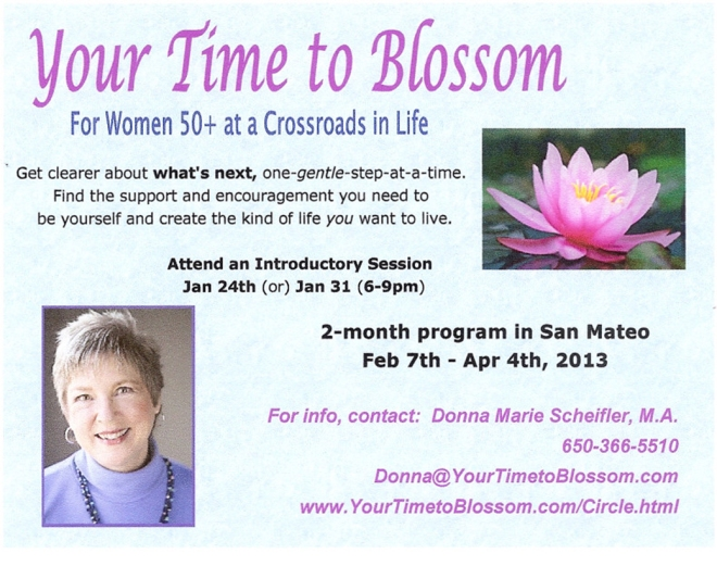 Your Time to Blossom