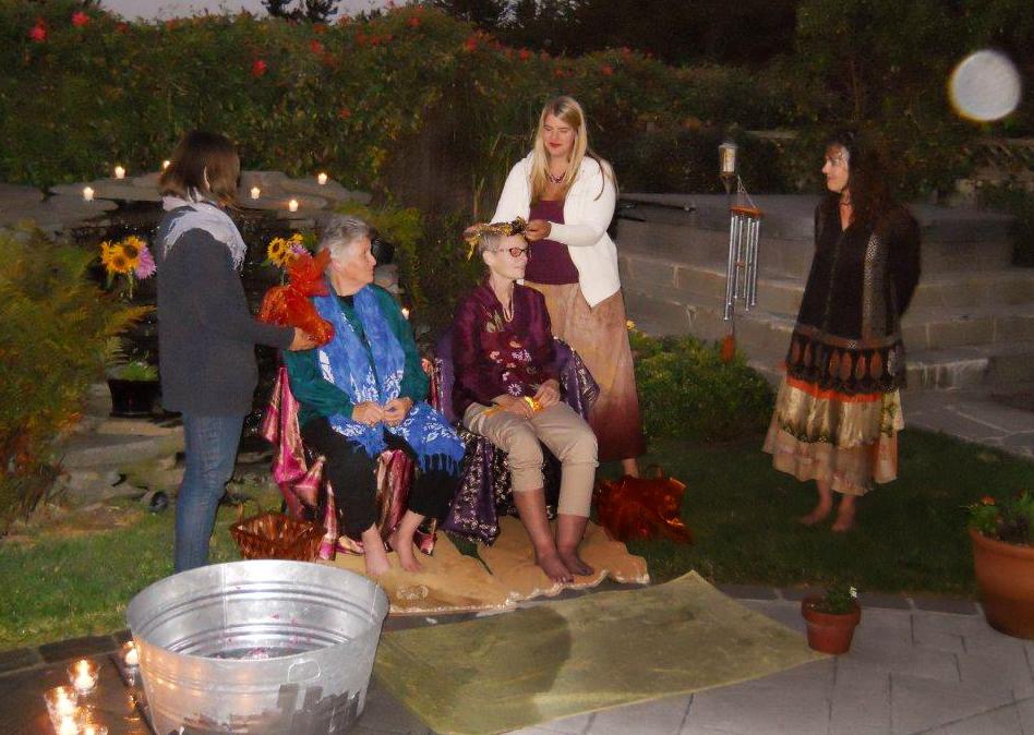 Crone Ceremony Moon Mothers of Half Moon Bay 031