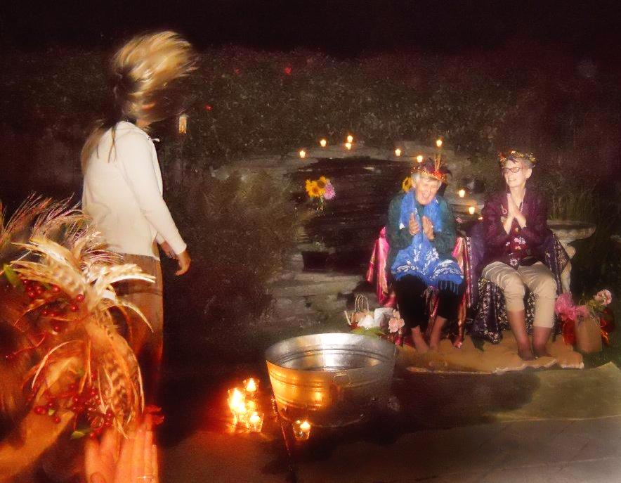 Crone Ceremony Moon Mothers of Half Moon Bay 042