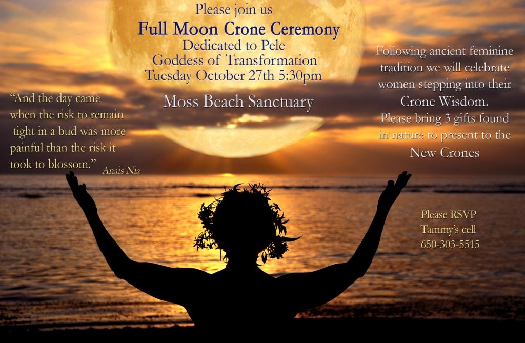 Full moon Crone Ceremony 2015